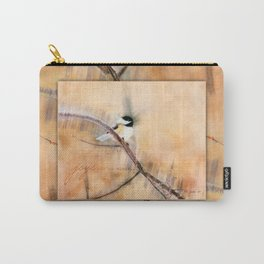 Joys Are My Wings Chickadee Art Carry-All Pouch