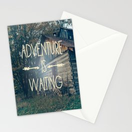 Adventure Is Waiting Stationery Cards