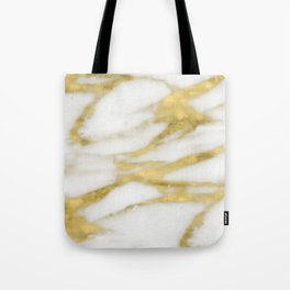 Bari golden marble Tote Bag