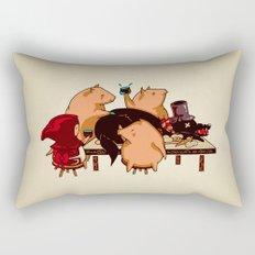 Dinner With Friends Rectangular Pillow