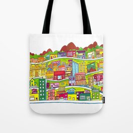 Casinhas Tote Bag