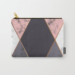 Marble Geometry 018 Carry-All Pouch