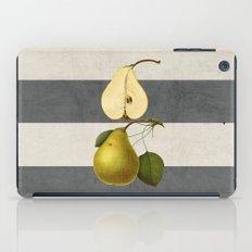 botanical stripes - pear iPad Case