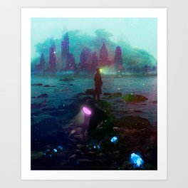 """Esploratore"" Art Print"