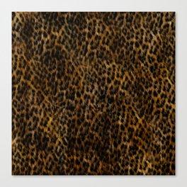 Cheetah Fur Texture Canvas Print