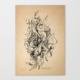 DinamInk #01 Canvas Print