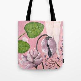 plants &  foots Tote Bag