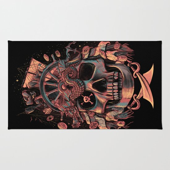 Dead Pirate's Gold Rug