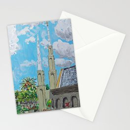 Johannesburg South Africa LDS Temple Stationery Cards