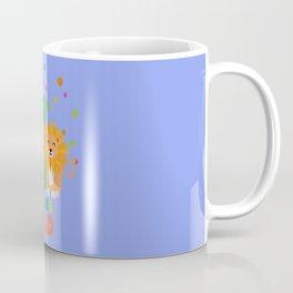 Six Years sixth Birthday Party Lion T-Shirt Dhpbx Coffee Mug