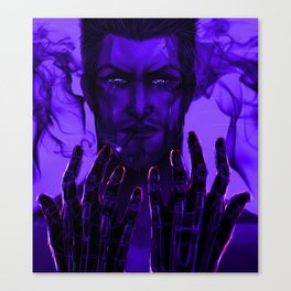 Smoke and technicolor  Canvas Print