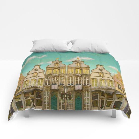 Victorian Street Comforters