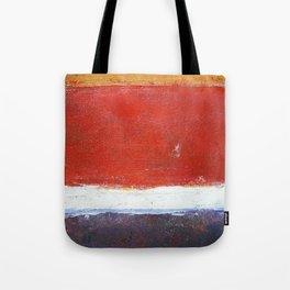 Mark Rothko Interpretation Acrylics On Paper Tote Bag