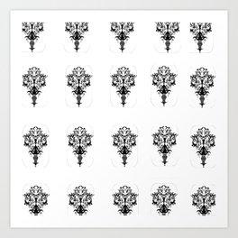 BLACK JO-JO 2° SECOND Art Print