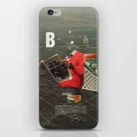 butterfly iPhone & iPod Skins featuring Butterfly by Frank Moth