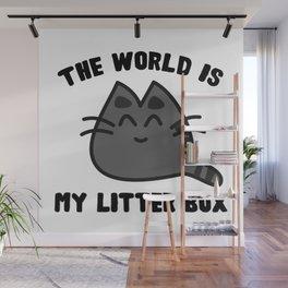 World Litter Box Wall Mural