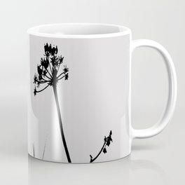 SEA PLANTS B&W Coffee Mug
