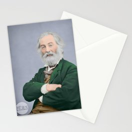 Walt Whitman - Colorized Stationery Cards