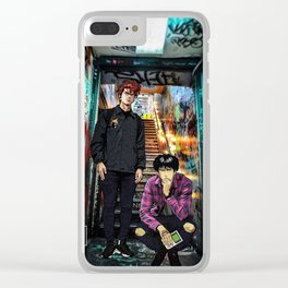 The Slam Dunk Clear iPhone Case