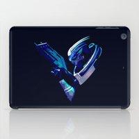 mass effect iPad Cases featuring Mass Effect: Garrus Vakarian by Fiona Ng