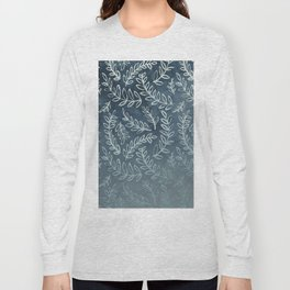 Navy Floral Long Sleeve T-shirt