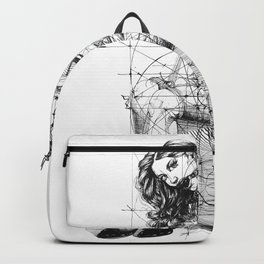 Brave Lady. ©Yury Fadeev Backpack