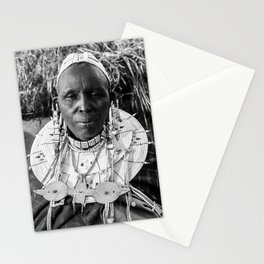Masai Grandma Stationery Cards