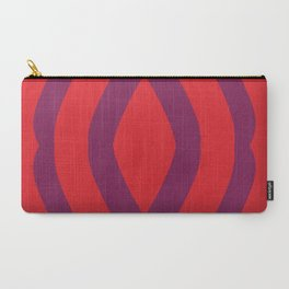 Plumberry Swirl Carry-All Pouch