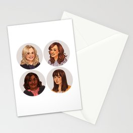 Parks and Recreation ladies Stationery Cards