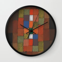 Static-Dynamic Gradation Wall Clock