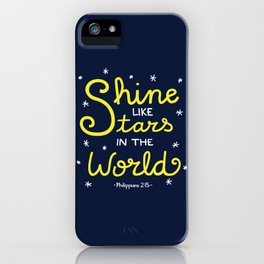Shine Like Stars iPhone Case