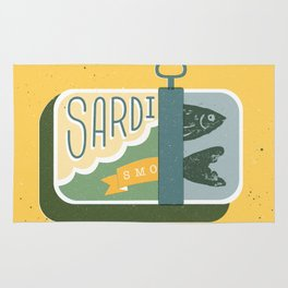 Sardines in a can Rug