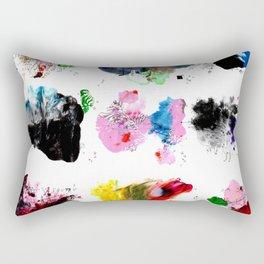 9 abstract rituals (2) Rectangular Pillow