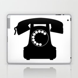 Traditional Telephone Icon Laptop & iPad Skin