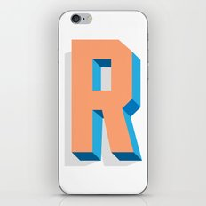 Letter R iPhone & iPod Skin