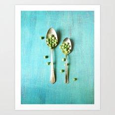 Give Peas a Chance Art Print