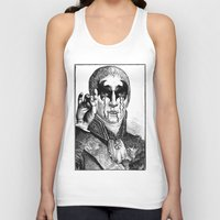 heavy metal Tank Tops featuring Heavy metal by DIVIDUS