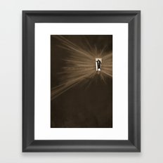 Hurry Framed Art Print