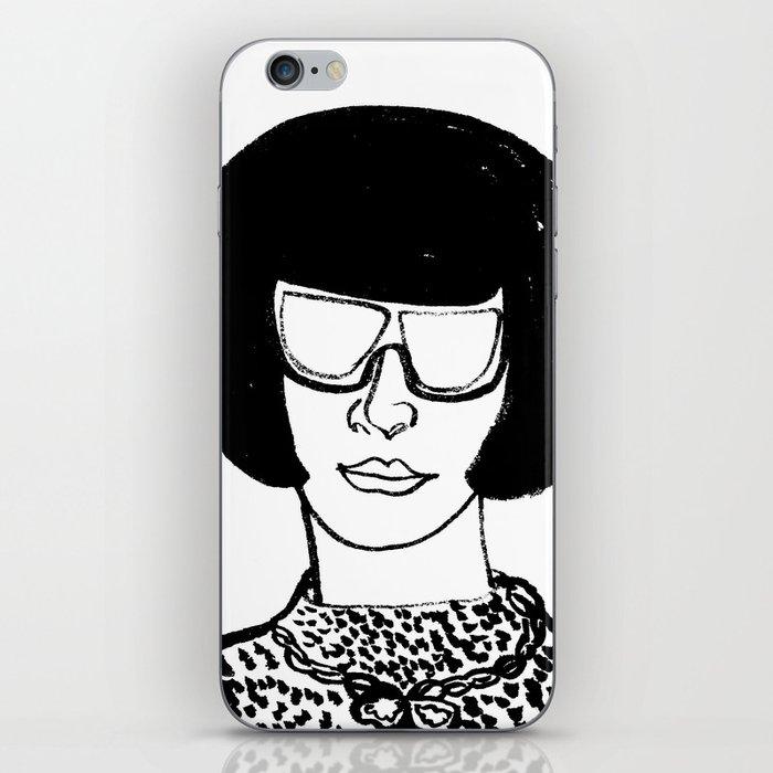 Faces of Fashion Part Deux iPhone Skin