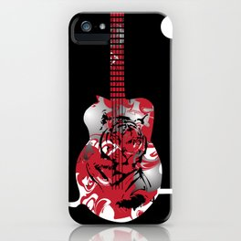 Roaring Guitar iPhone Case