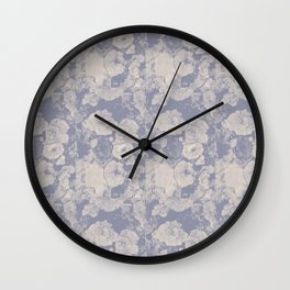 Smooth Flowers Wall Clock