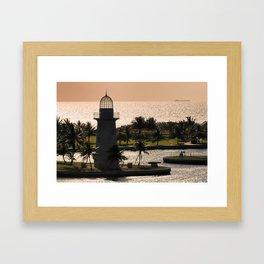 Boca Chita Lighthouse Framed Art Print
