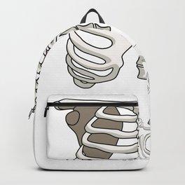 Unicorn Skeleton Backpack