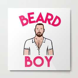 Beard Boy: Graeme Metal Print