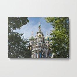 St Petersburg Metal Print