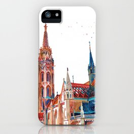 Matyas-templom Budapest iPhone Case