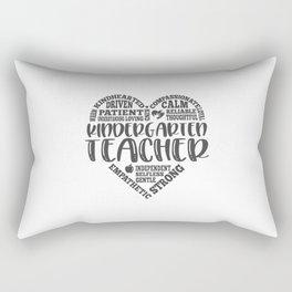 Kindergarten teacher, kindergarten Rectangular Pillow