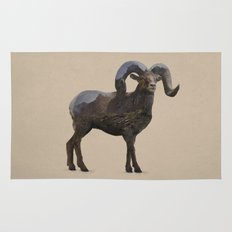 The Rocky Mountain Bighorn Sheep Rug