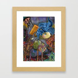 Flying High to Get to You Framed Art Print
