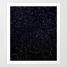 EH-WEANS-IN-SPACE Art Print